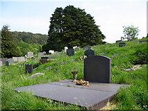 SH5571 : Bedd Cynan.   Cynan's Grave at Church Island by Eric Jones