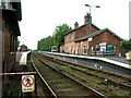 TF4958 : Railway Station, Wainfleet by Dave Hitchborne