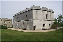 SY6874 : Portland Castle by Mike Smith
