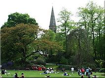 NS5667 : Glasgow Botanic Gardens by Thomas Nugent