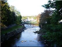 NY2623 : Footbridge over River Greta by Alexander P Kapp