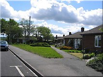 NZ2942 : Pensioners' Bungalows, Bent House Lane by Roger Smith