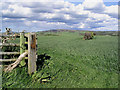 NU1011 : Arable farmland by Walter Baxter