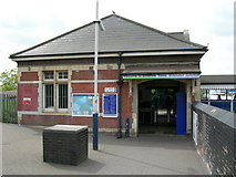 TQ2182 : Willesden Junction Station (Silverlink) by Danny P Robinson