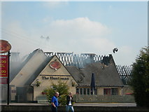ST6677 : Huntsman Pub Fire by Alice Hall