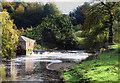 NS5461 : Weir  White Cart Water by John McLeish