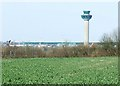TL5523 : Stansted Airport Tower by Thomas Nugent