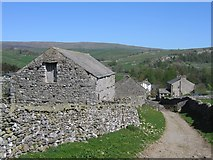 SD8167 : Footpath and Lane to Little Stainforth by John S Turner