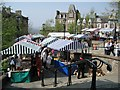 NN8621 : Saturday Market, Crieff by Robert Bone