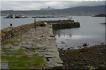 NB9907 : Old harbour, Tanera Mòr by Bob Jones
