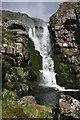 NC0802 : Garbh Allt waterfall by Bob Jones