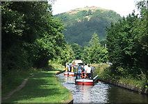 SJ2442 : The Llangollen Canal at Sun Trevor - 2005 by Maurice Pullin