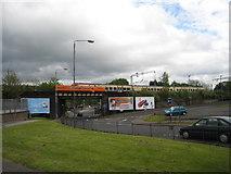 NS3980 : Rail Bridge Alexandria by Eddie Mackinnon