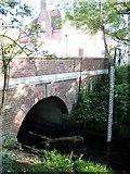 TQ2688 : Bridge over Mutton Brook by Martin Addison