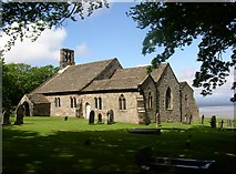 SD4161 : St Peter's Church, Heysham by Humphrey Bolton