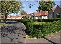 SE1321 : Bungalows, Reins Road, Rastrick by Humphrey Bolton