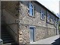 SD8263 : Drill Hall, Castlebergh Lane, Settle by John S Turner