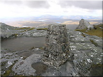 NC5748 : Top of Ben Loyal by Phil Catterall
