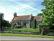 ST5621 : Church of St Vincent - Ashington by Mike Searle