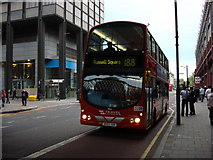 TQ3179 : Number 188 Bus Outside Waterloo Station by Oxyman