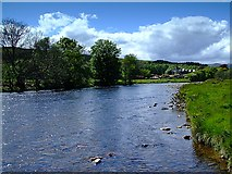 NH5292 : The River Carron by Donald H Bain