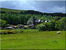 NH5292 : Looking over at Gruinards Lodge by Donald H Bain