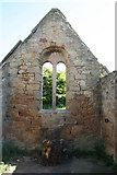 NU2409 : Ruined chapel, Church Hill by Dave Dunford