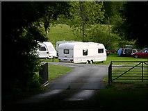 SH7519 : Dolserau Uchaf campsite by liz dawson