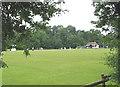 SO5923 : Sports club, Ross-on-Wye by Pauline E