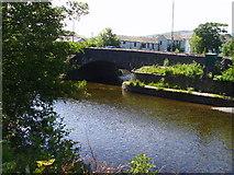 NY2623 : Road bridge over the River Greta by A Holmes