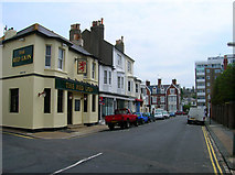 TQ2804 : Red Lion, Hove Place by Simon Carey