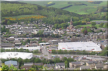 NT4935 : Galashiels Town Centre Redevelopment by Walter Baxter