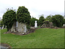 N9869 : Ruined church at Knockcommon, Co. Meath by Jonathan Billinger