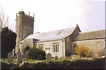 SY6085 : Portesham: parish church of St. Peter by Chris Downer