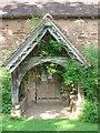 SO6960 : Porch of Old St Bartholomew's Church by Trevor Rickard
