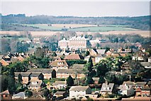ST8707 : Bryanston from across Blandford by Chris Downer