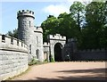 NJ6912 : South Entrance to Cluny Castle by Stanley Howe