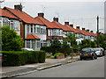 TQ2391 : Oakhampton Road, Mill Hill by Stephen McKay