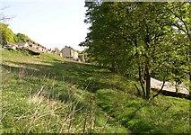 SE1323 : Footpath Wood Bottom Lane to Elland Road (4), Brighouse by Humphrey Bolton