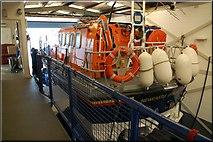 J3729 : Inside Newcastle lifeboathouse by Albert Bridge