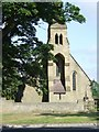 NZ2115 : Piercebridge church by Stanley Howe
