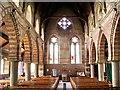 NY1153 : Christ Church, Silloth, interior by Alexander P Kapp