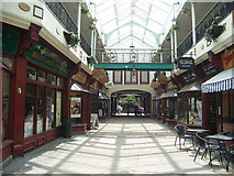 SK4293 : The Old Town Hall Shopping Arcade by Stanley Walker