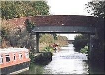 ST8760 : Whaddon Bridge - No.163 - nr. Whaddon  2003 by Maurice Pullin