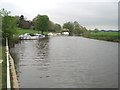 SO9237 : River Avon at Bredon by Trevor Rickard