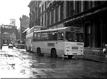 SJ8499 : 'Centrebus' outside Victoria station, Manchester. by Dr Neil Clifton