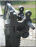 SO8690 : Lock Mechanism - Hinksford Lock, Swindon by Ian Hughes