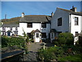 NY2332 : Bassenthwaite Cottages and the Sun Inn by Rick Hole