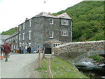 SX0991 : Boscastle Bridge (After the Flood) by Nick Mutton