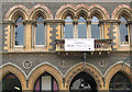 SO5039 : Window detail and ornamentation, Hereford library by Pauline E